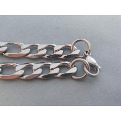 Ch. oceľ náhrdelník vzor figaro DRO524438 316/L 44,38g