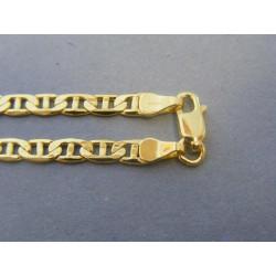 Zlatá pánska retiazka vzor valentina žlté zlato VR55873Z 14 karátov 585/1000 8,73g