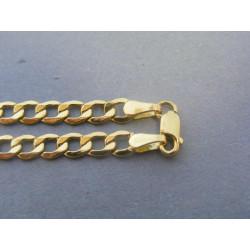 Zlatá pánska retiazka vzor pancier VR505564Z 14 karátov 585/1000 5,64g