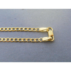Zlatá retiazka vzor pancier žlté zlato VR56238Z 14 karátov 585/1000 2,38g