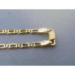 Zlatá pánska retiazka vzorovaná žlté zlato VR555886Z 14 karátov 585/1000 8,86g