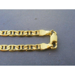 Zlatý pánsky náramok vzor valenina žlté zlato VN215367Z 14 karátov 585/1000 3,67g