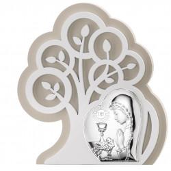 Strieborný obraz 1. sv. prijímanie dievča strom života VL81400/1L
