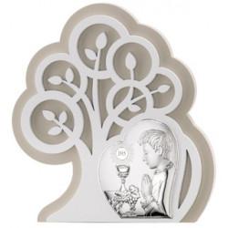 Strieborný obraz 1. sv. prijímanie chlapec strom života VL81401/1L