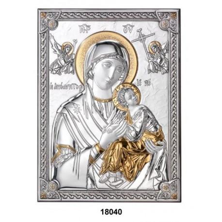Strieborný obraz Matky ustavičnej pomoci Strieborný obraz Matky ustavičnej pomoci 18040/5L