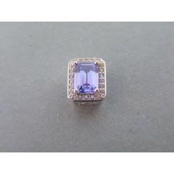 Strieborný prívesok modrý kameň VIS131 925/1000 1,31g