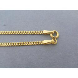 Zlatá retiazka vzor pancier žlté zlato DR50238Z 14 karátov 585/1000 2,38g