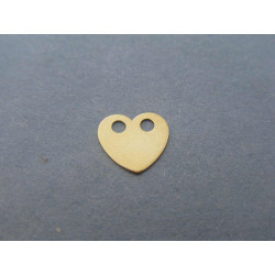 Zlatý dámsky prívesok srdiečko žlté zlato DI022Z 14 karátov 585/1000 0,22g