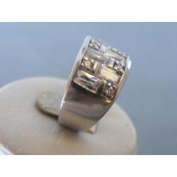 Strieborný dámsky prsteň zirkóny DPS58932 925/1000 9,32g