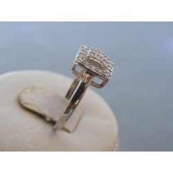 Strieborný dámsky prsteň zirkóny DPS55277 925/1000 2,77g