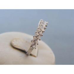 Strieborný dámsky prsteň zirkóny DPS57209 925/1000 2,09g