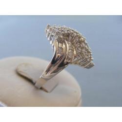 Strieborný dámsky prsteň zirkóny DPS56625 925/1000 6,25g