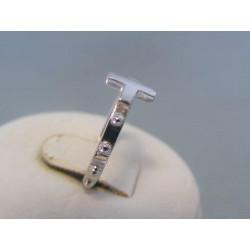 Strieborný dámsky prsteň ruženec DPS51198 925/1000 1,98 g