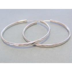 Dámske strieborné náušnice kruhy DAS497 925/1000 4,97 g
