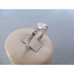 Strieborný prsteň ruženec 925/1000 1,89 g