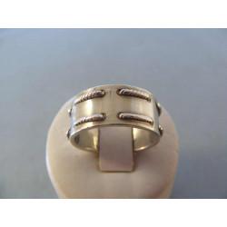 Pánsky strieborný prsteň DPS621058 925/1000 10,58 g