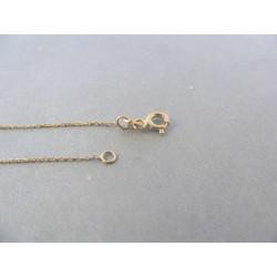 Dámska zlatá retiazka Selebritka DR435146Z 14 karátov 1,46 g