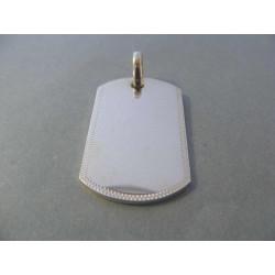 Strieborný prívesok pánsky VIS1360 925/1000 13,60 g