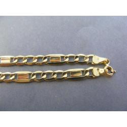 Zlatá pánska retiazka zaujímavý vzor DR55709Z 585/1000 14 karátov7,09 g
