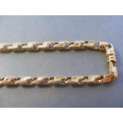 Pánska zlatá retiazka DR604211Z 585/1000 14 karátov 42.11 g