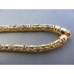 Zlatá pánska retiazka zaujímavý vzor DR655885Z 14 karátov 585/1000 58/85 g