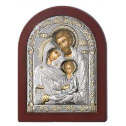 Strieborný obraz Svätá rodina 84125LORO