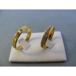Svadobné obrúčky model 13/E 56622936
