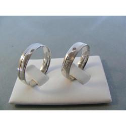 Svadobné obrúčky model 42F 56623235