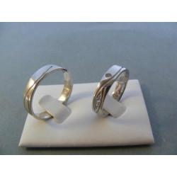 Svadobné obrúčky model 31/C 56623640 užšia