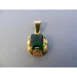 Zlatý dámsky prívesok viacfarebné zlato DI345V 585/1000 14 karátov 3,45 g