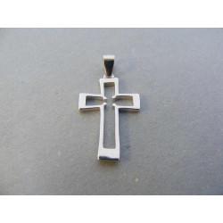 Strieborný prívesok Kríž DIS101 925/1000 1,01 g
