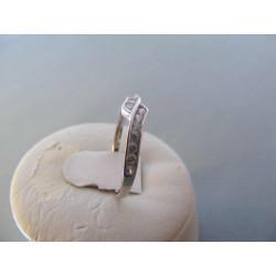 Jemný dámsky strieborný prsteň zirkóny DPS57166 925/1000 1,66 g