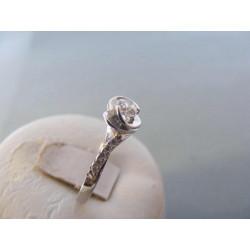 Dámsky strieborný prsteň Srdiečko Zirkóny DPS57224 925/1000 2,24 g