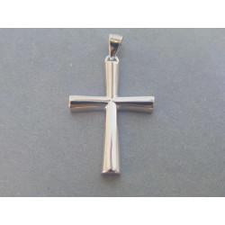 Strieborný prívesok Križ hladký povrch VIS215 925/1000 2,15 g