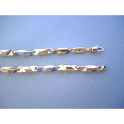 Zlatá retiazka viacfarebné zlato VR5051492V 14 karátov 585/1000 14,92 g