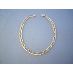 Zlatý náramok reťazový vzor DN20236Z 14 karátov 585/1000 2,36 g