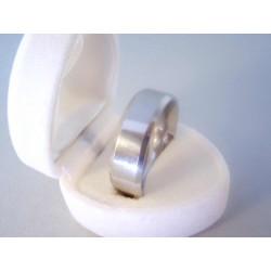 Pánsky prsteň chirurgická oceľ hladký povrch DPO72938 316/L 9,38 g