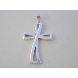 Zaujímavý strieborný prívesok Kríž UNISEX VIS290 925/1000 2,92 g