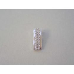 Strieborný prívesok dámsky zirkóny VIS095 925/1000 0,95 g