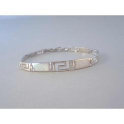Strieborný náramok dámsky biely opál DNS1951169 925/1000 11,69 g