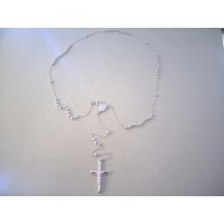 Strieborný náhrdelník  Svätý Ruženec DRS50798 925/1000 7,98 g