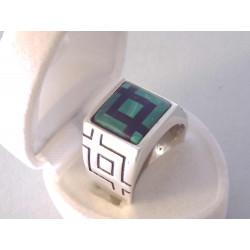 Zaujímavý pánsky strieborný prsteň ONYX VPS631303 925/1000 13,03 g