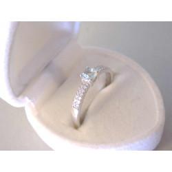 Pekný dámsky strieborný prsteň zirkóny VPS57165 925/1000 1,65 g