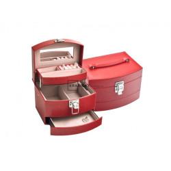 Dámska šperkovnica červená SP-300/A7/N