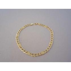Pánsky zlatý náramok vzor Figaro DN21307Z 14 karátov 585/1000 3,07 g