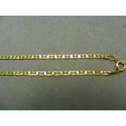 Zlatá retiazka viacfarebné zlato VR42401