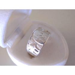 Strieborný prsteň UNISEX vzorovaný LEV VPS56545 925/1000 5,45 g