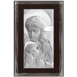 Svätá rodina strieborný obraz BC6638F/7MR