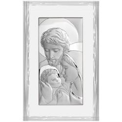 Strieborný obraz Svätá rodina BC6638F/7PR