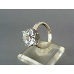 Zlatý prsteň z bieleho zlata VP56501B